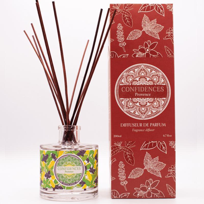 Diffuseur de parfum menthe basilic pack